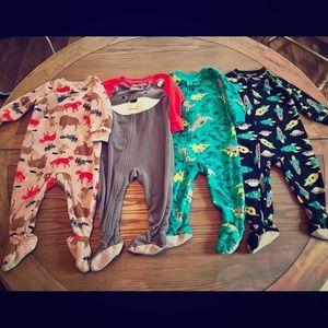Carter's Fleece Pajamas.